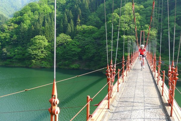 Bridge outside the town of Yamanaka Onsen in Ishikawa prefecture    Provided by PR